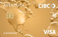 CIBC Aventura Visa gold front fr