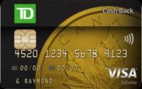 td visa Infinite cash back