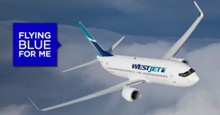 westjet flying blue featured