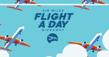 contest air miles free flights en