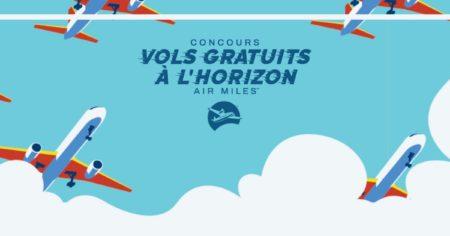concours air miles vols gratuits fr